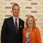 Jill with Peyton Manning