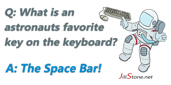 Astronaut Space Bar Joke