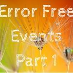Error Free Events